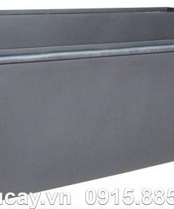 Chậu cây Composite Hậu Phát chữ nhật dài | HP-1263 (xám mờ)