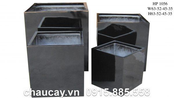 chau-cay-composite-hau-phat-tru-vuong-hp-1156-den-bong