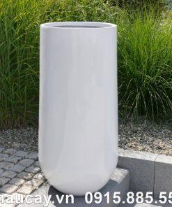 Chậu cây composite ipot trụ tròn sang trọng | IP-00021Chậu cây composite ipot trụ tròn sang trọng | IP-00021