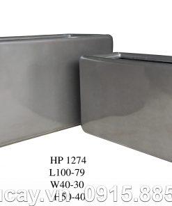 Chậu Composite Hậu Phát cao cấp xám bóng | HP-1274
