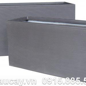 Chậu Composite Hậu Phát chữ nhật dài | HP-1169