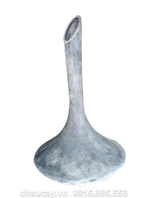 Chậu Composite Hậu Phát hình bình cổ cao | HP-1247