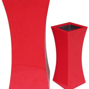 Chậu Composite Hậu Phát vuông cao cách điệu | HP-1027