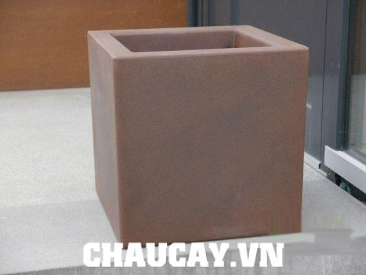 Chậu Composite Ipot Vuông Thấp Sang Trọng | Ip-00003