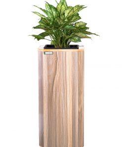 Chậu gỗ tự tưới Green Archi vuông vát góc lớn | GA - 513C