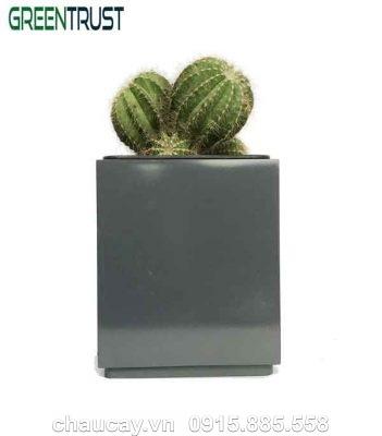 Chậu Green Archi Để Bàn Vuông Đứng | Gab-111A