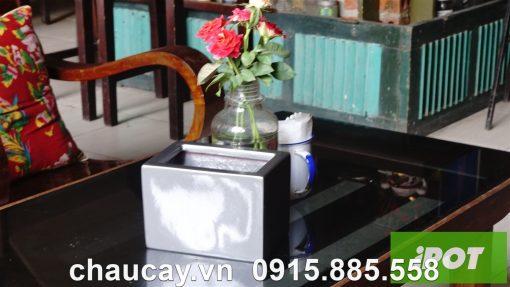 Chậu Hoa Composite Ipot Cao Cấp | Ip-00008