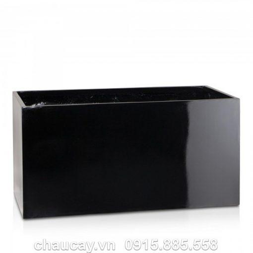 Chậu Nhựa Composite Anber Chữ Nhật Dài 5001