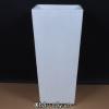 Chậu Nhựa Composite Anber Vuông Cao Vát Đáy 1606