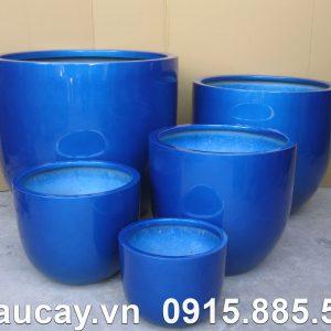 Chậu nhựa trồng cây Composite Hậu Phát egg | HP-1083