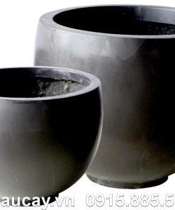 Chậu nhựa trồng cây Composite Hậu Phát tròn | HP-1147