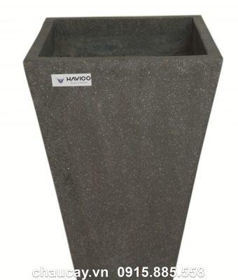 Chậu đá mài Havico Atin vuông vát đáy   CM-255
