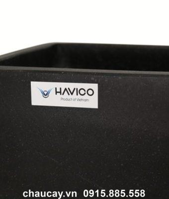 Chậu đá mài Havico Cream hình chữ nhật   CM-256