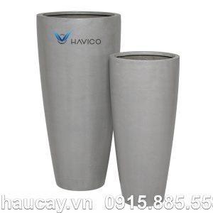 Chậu đá mài Havico Gloss trụ tròn | CM-253