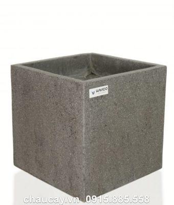 Chậu đá mài Havico Lunt vuông sang trọng | CM-281