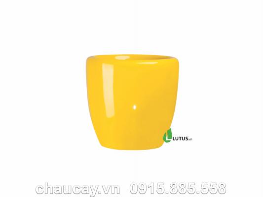 Chậu Cây Cảnh Composite Tròn - Mã 11005