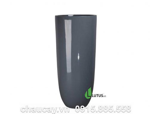 Chậu Composite Trụ Tròn Cao - Mã 11432