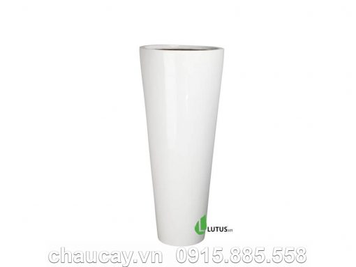 Chậu Nhựa Composite Trụ Tròn Cao - 11206