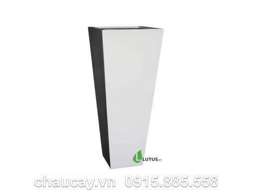 Chậu Nhựa Composite Trụ Vuông Vát - 11651