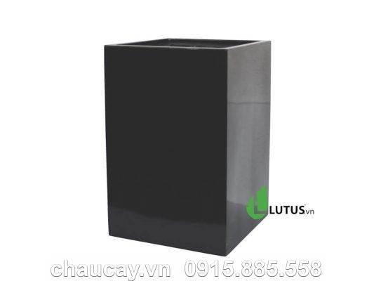 Chậu Nhựa Composite Vuông Cao - 11312