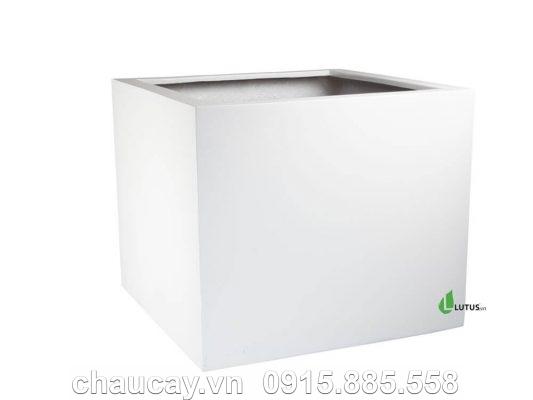 Chậu Nhựa Trồng Cây Composite Vuông - 11259