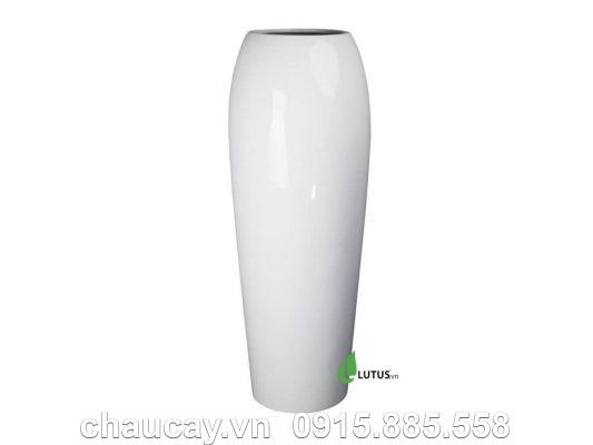 Chậu Cây Cảnh Composite Tròn Cao - 11611