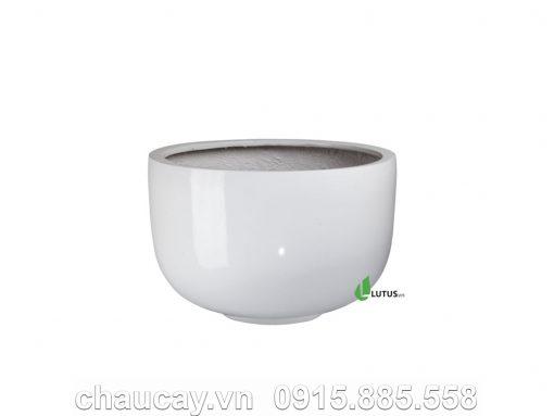 Chậu Nhựa Trồng Cây Composite Tròn - 11334