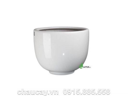 Chậu Trồng Cây Composite Sang Trọng - 11051