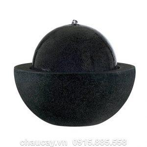 Đài phun nước nội thất composite mini Guapi đá đen