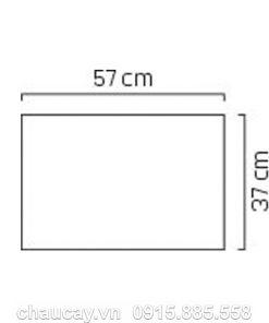 Đài phun nước phong thủy trong nhà composite vuông