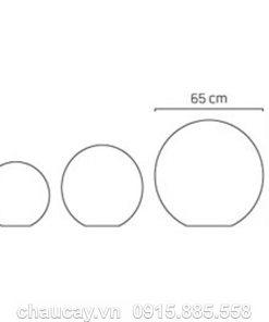 Thác nước trong nhà composite phong thủy - ball